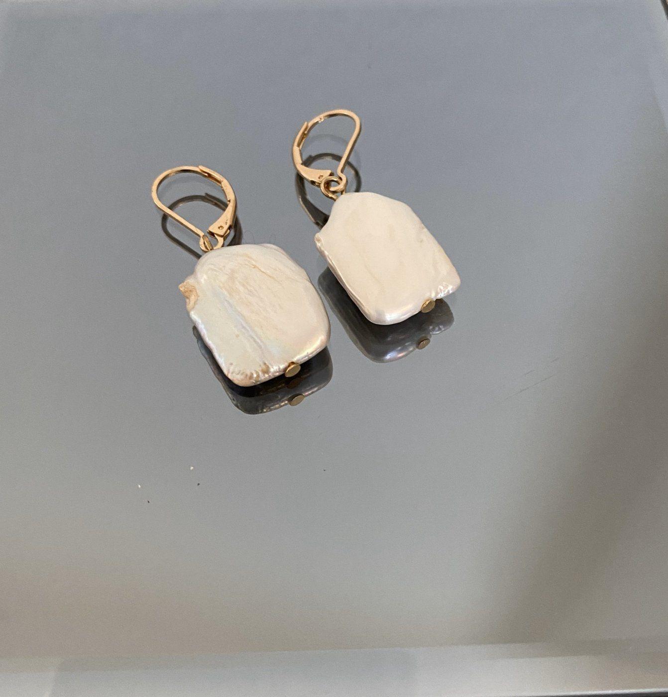 Ohrringe Perle _______ (Festpreis) | Mädchenflohmarkt