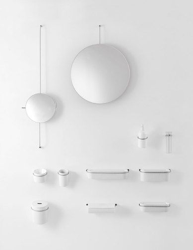 Agape Bathroom accessories from the Bucatini range from Liquid Design +44 (0)1604 721993