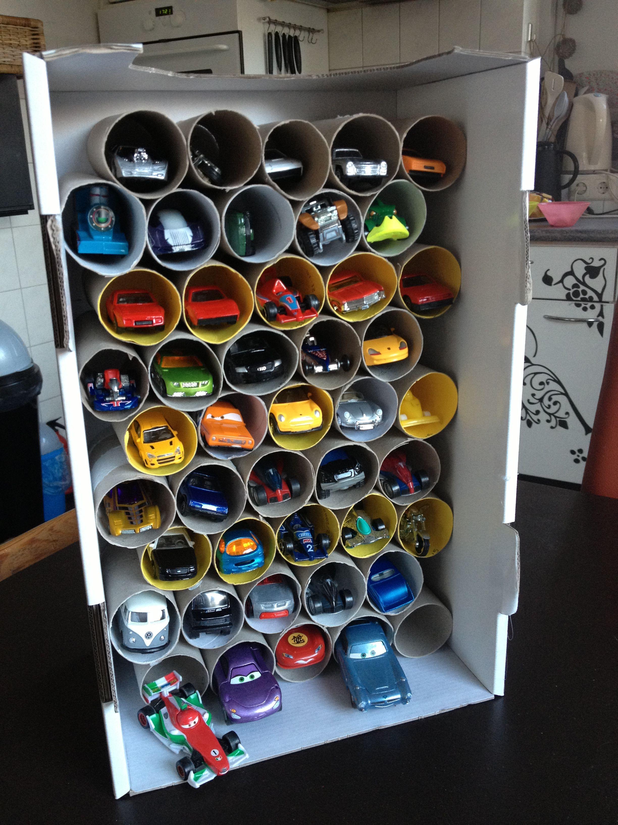 Diy Toy Car Garage Storage Solutions