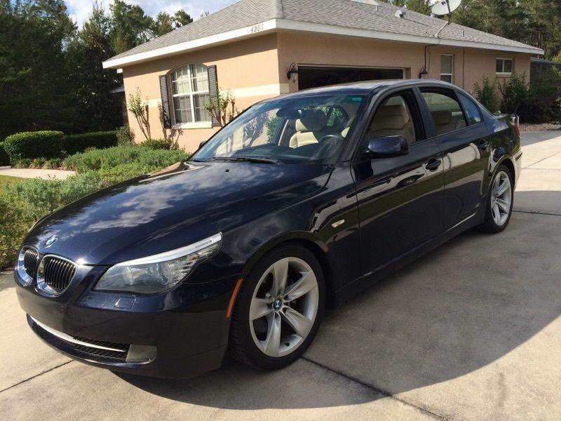 Car Brand Auctioned Bmw 5 Series 528i Bmw 528i 2008 Bmw Bmw