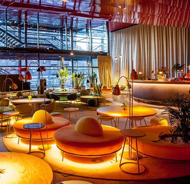 Restaurante Nubel En El Reina Sofía Decoración