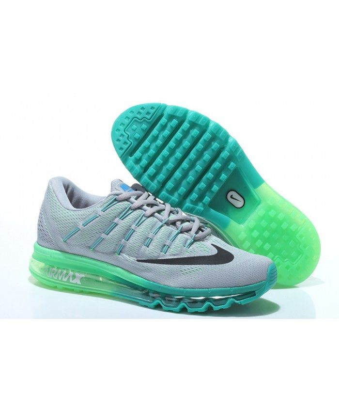 info pour 91fc5 3f476 Homme Nike Air Max 2016 Gris Water Bleu Chaussures | Nake в ...
