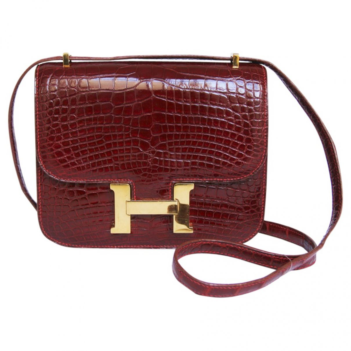 Hermès Constance Alligator Bag  11d31fd54081e