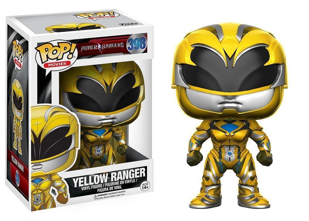 figurine en vinyle-black ranger brand new * Power rangers movie pop