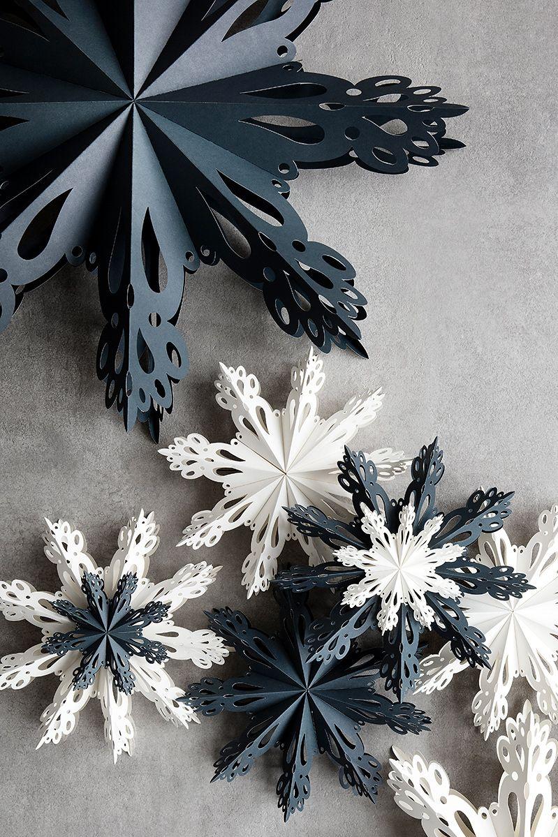 """Photo of Papierschneeflocke """"Snowflake"""" von Broste Copenhagen  – Bild 12"""