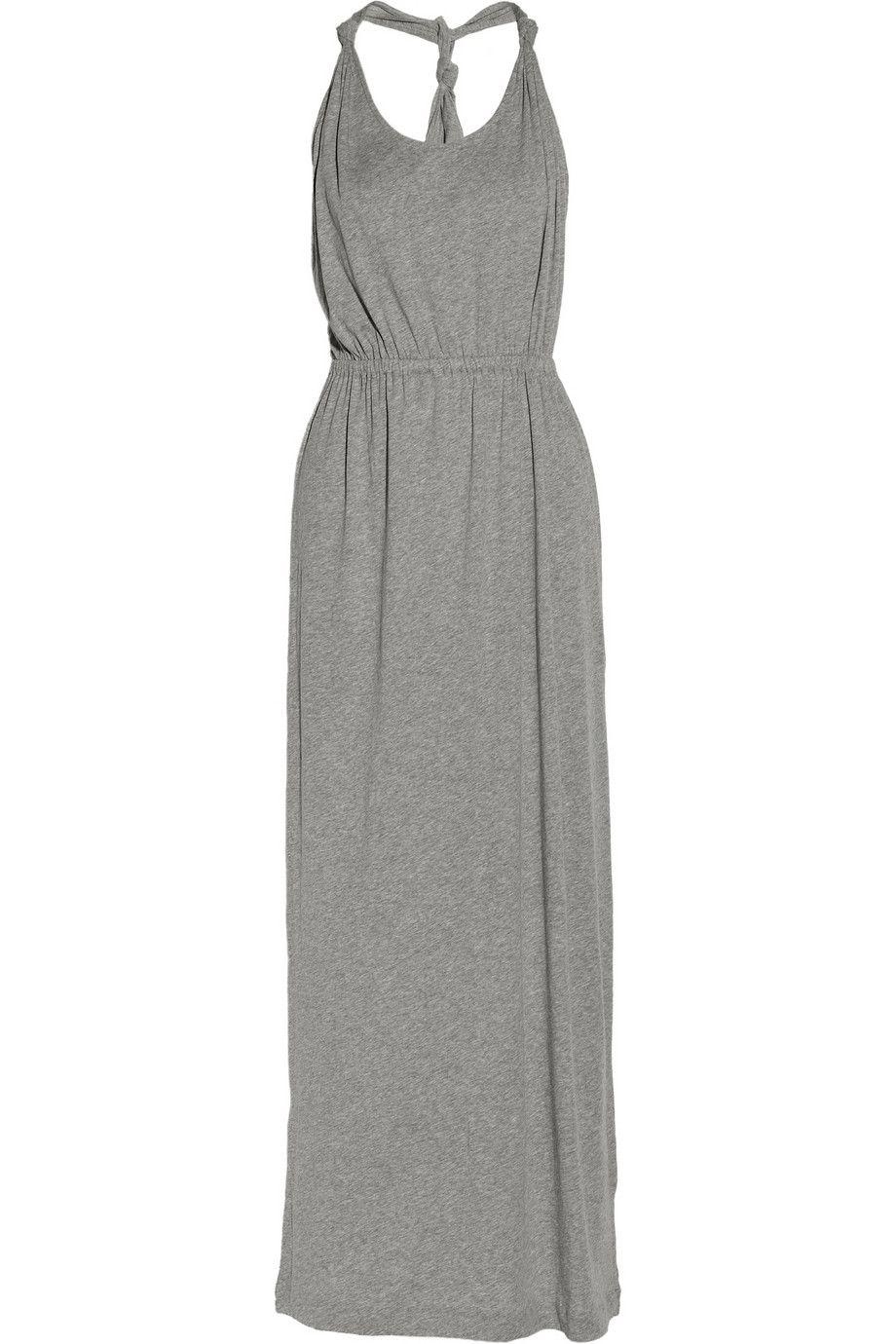 Organic cottonjersey maxi dress by chinti and parker fashion my