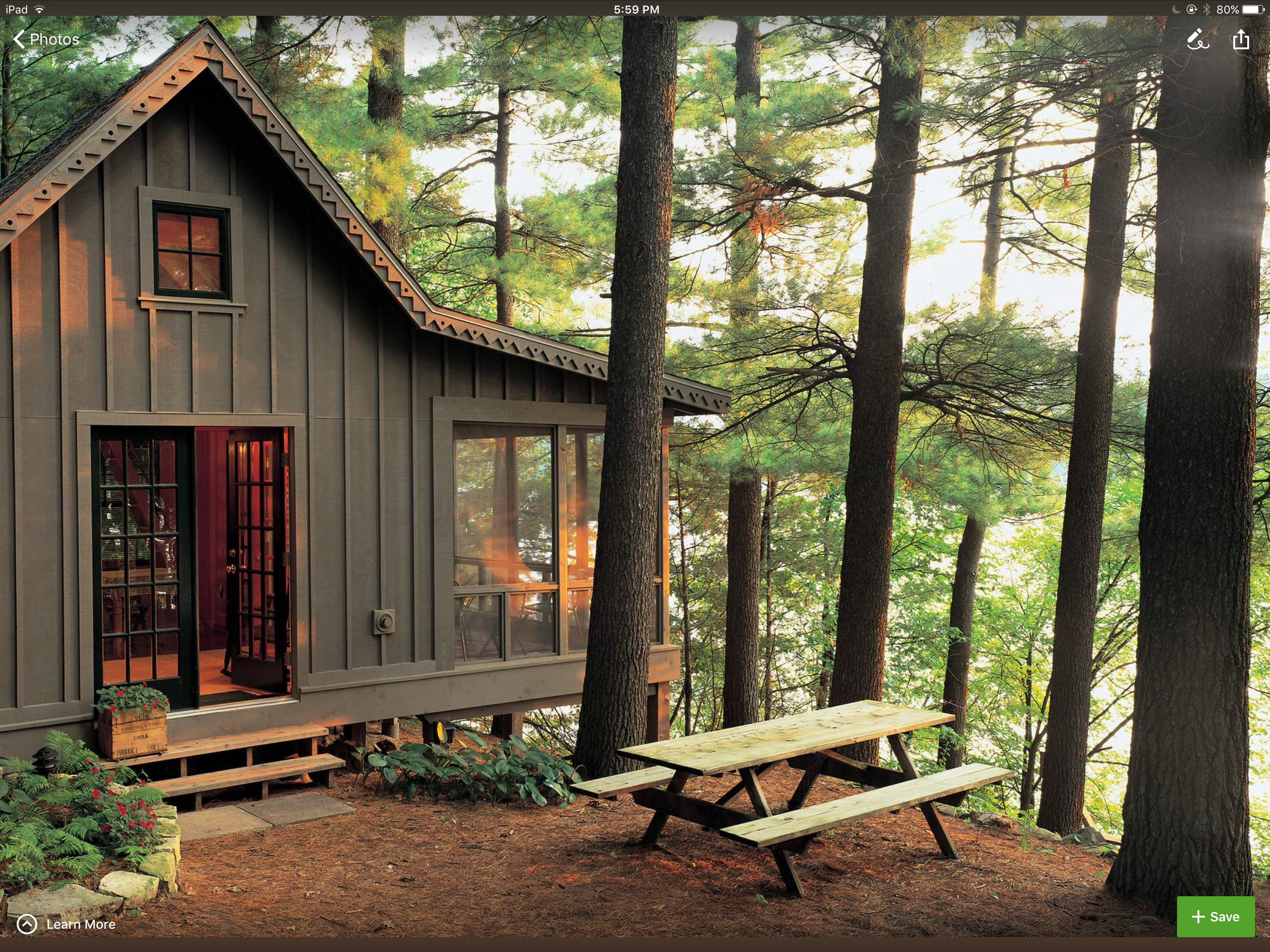 Pin By Cheryl Bryant On A Frame And Camp Ideas Mountain Home Exterior Barn House Plans Tiny House Cabin
