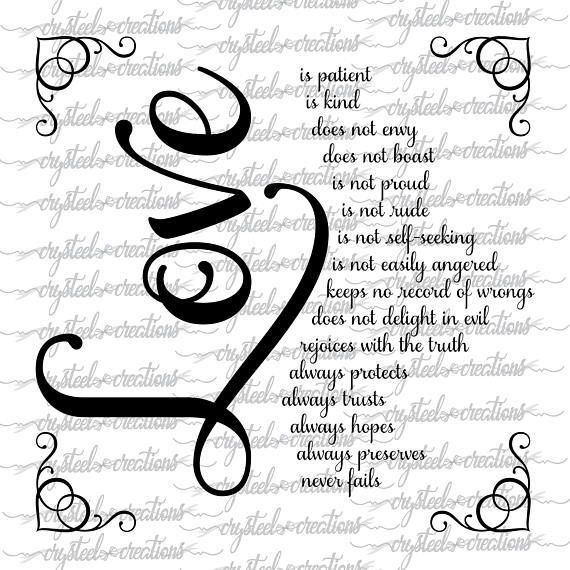 Download Love is SVG, PNG, DXF, Silhouette, Cricut, Valentine's svg ...