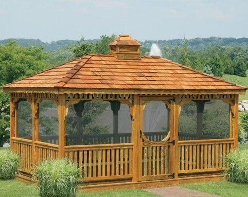 Patio Gazebos Ideas For Using Outdoor Gazebos Creatively