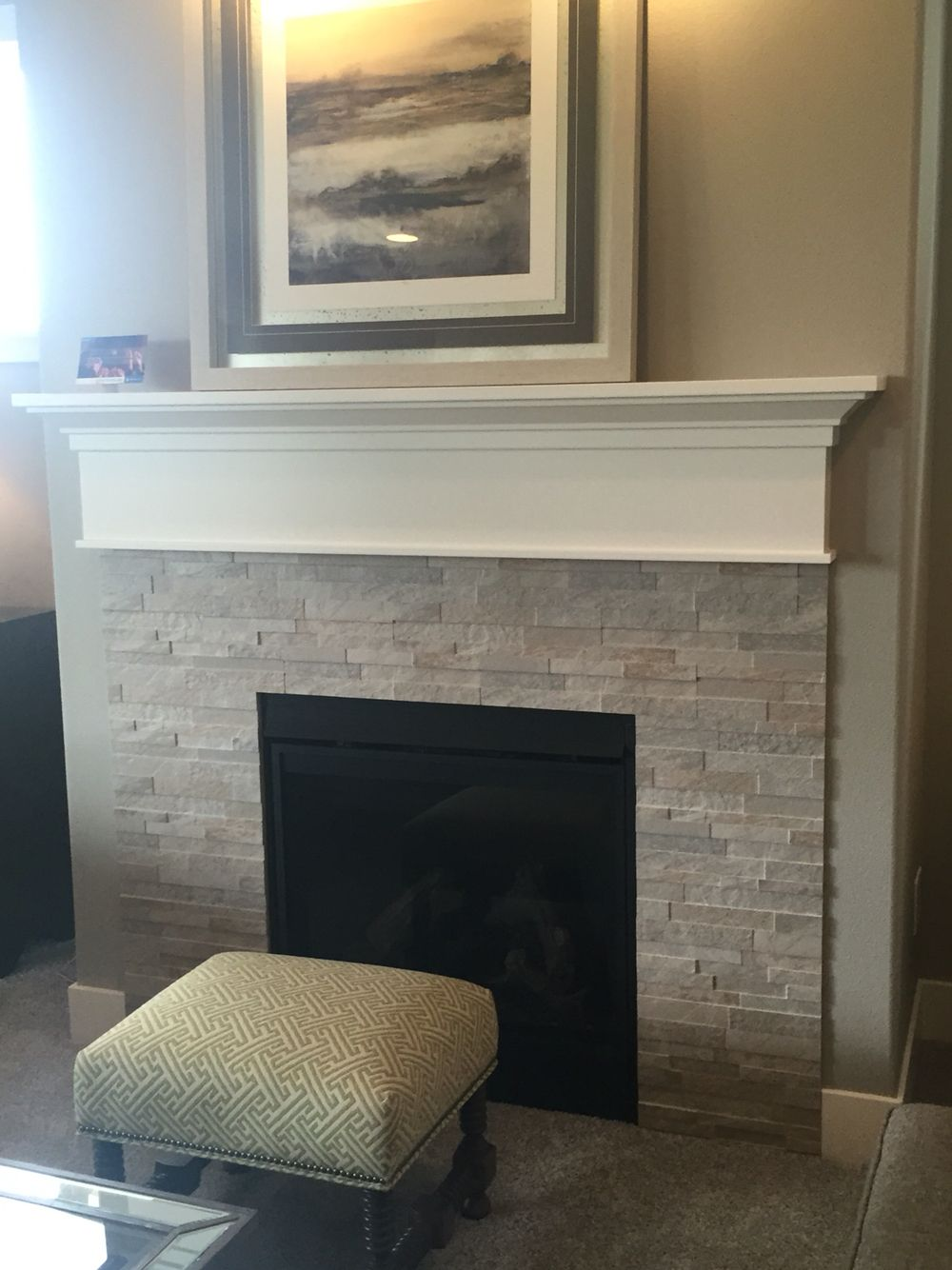 Fireplace project
