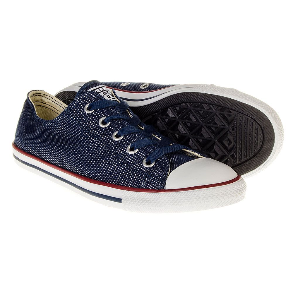 Converse All Star Denim Dainty Shoes (Navy)  155a83b73