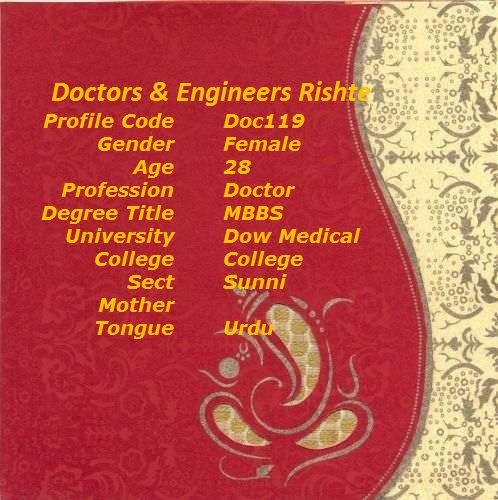 Doctor Engineer Rishtey #MuslimMatch #Matchmaking #Rishta