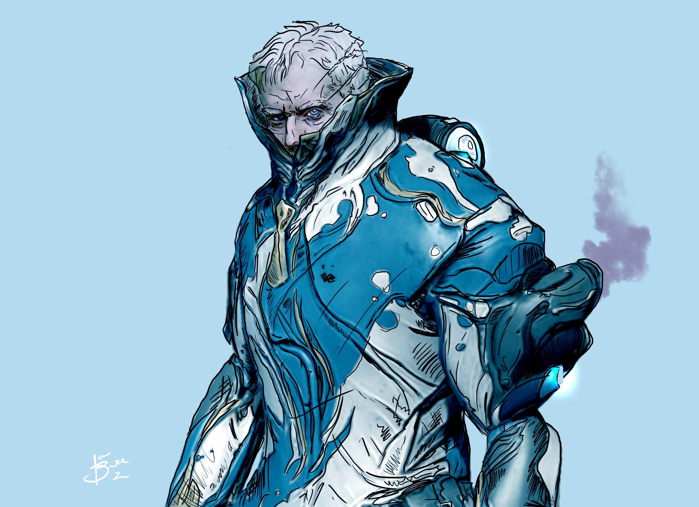 FROST'S FACE Warframe art, Character art, Character design