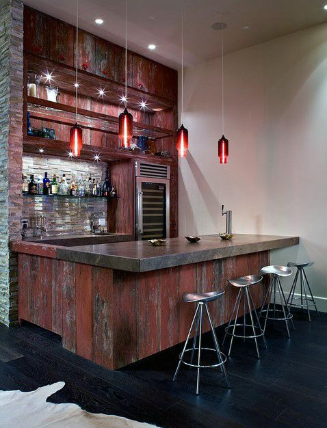 50 Man Cave Bar Ideas To Slake Your Thirst - Manly Home Bars | Man ...