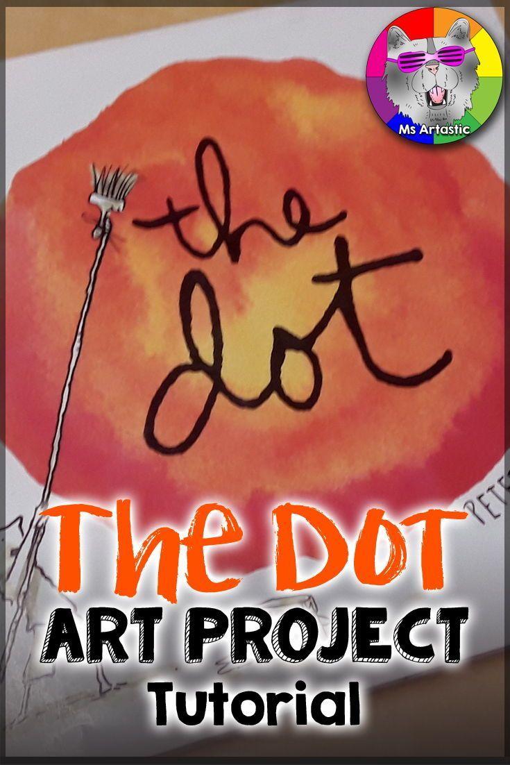 Nutrition  #lesson the dot art lesson, jen aranyi art lesson, 3rd grade art l…