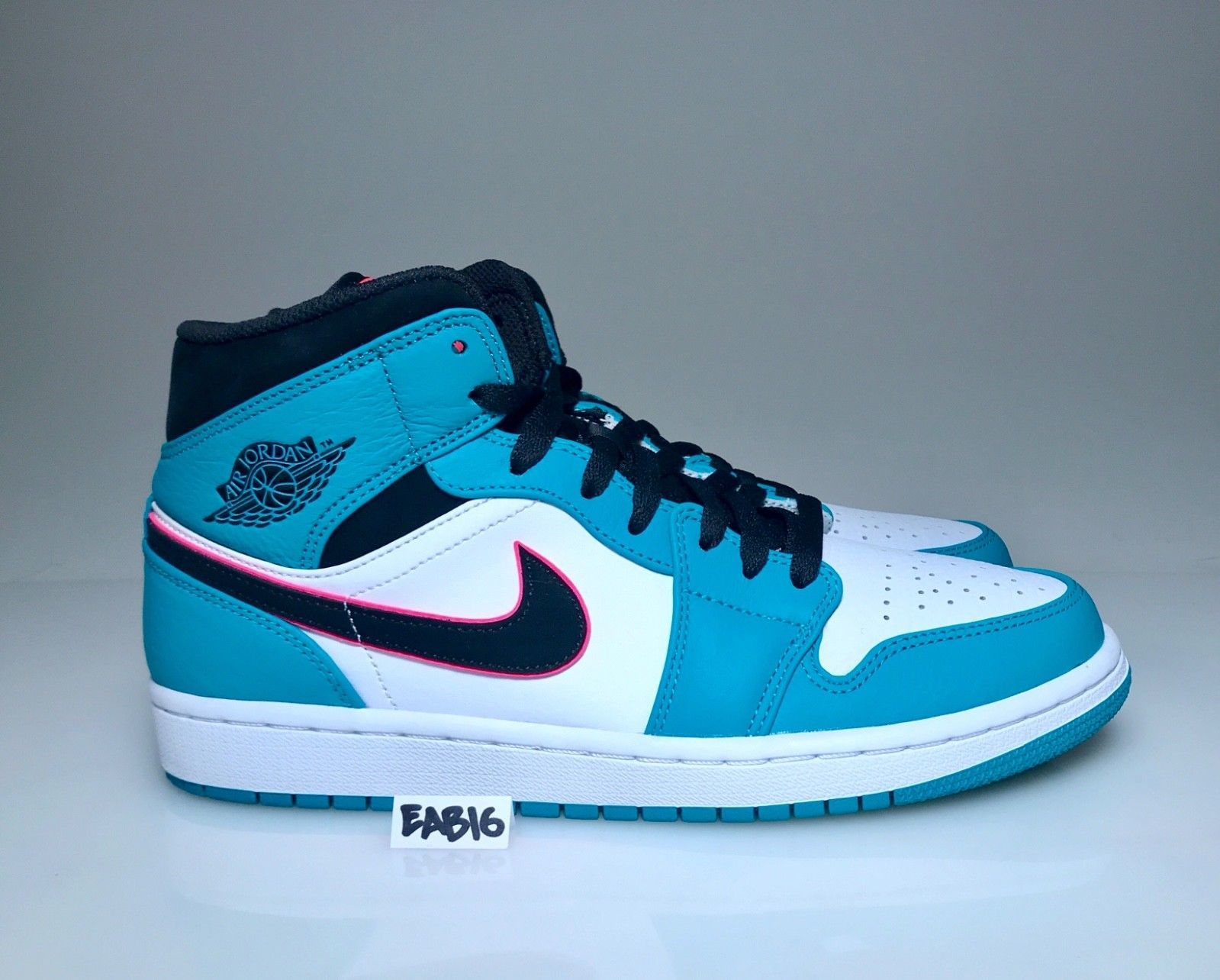 79587355b3b5 Details about Nike Air Jordan 1 Mid SE Riverwalk South Beach Turbo ...