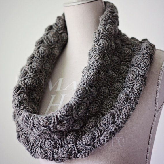 knit cocoon snood, cowl, scarf | Knit One Purl One | Pinterest ...