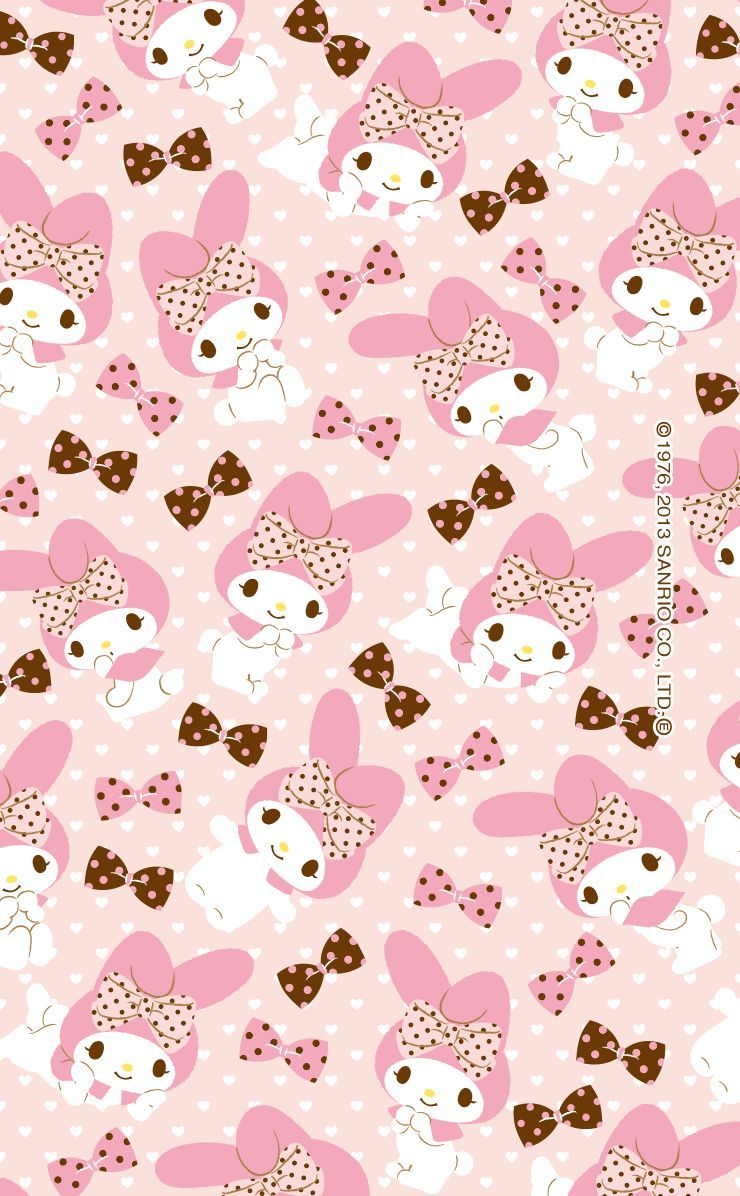 Pink Pattern Heart Design Wrapping Paper Wallpaper Di