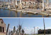 Deserted Village of Villa Lago Epecun, Argentina