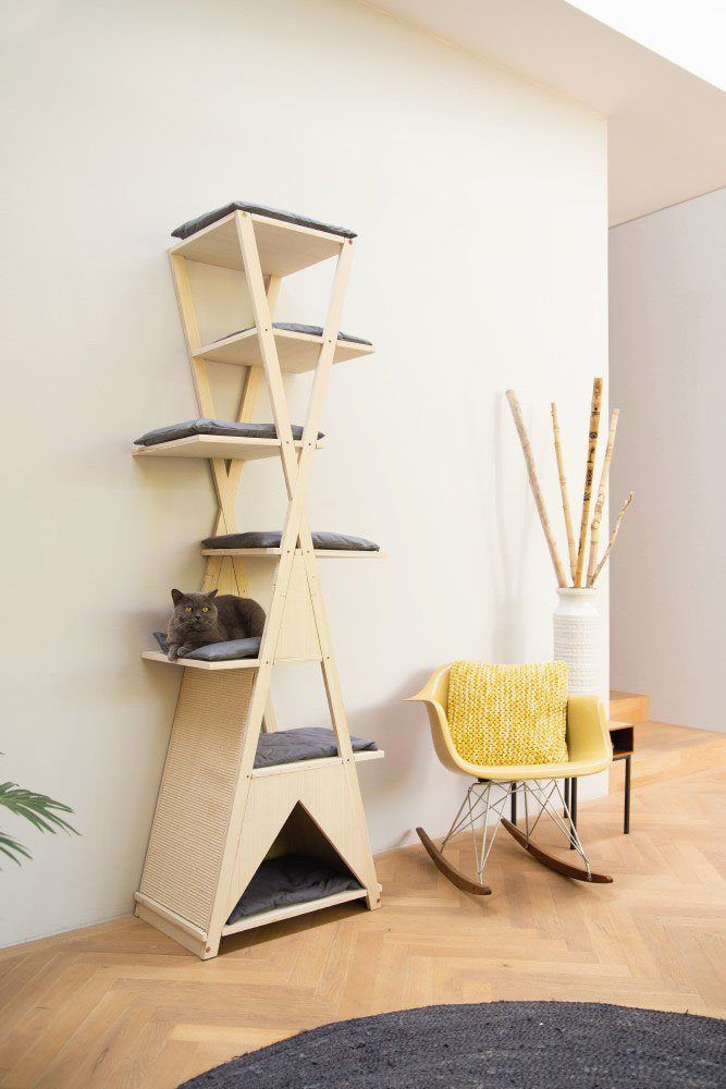 Photo of Buy Beeztees Scratching Post »Wood Scratching Furniture Monti« OTTO