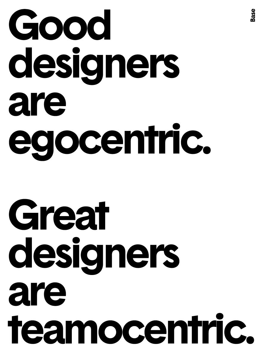 Posters Of No-Frills Design Advice, Made In Just 5 Minutes