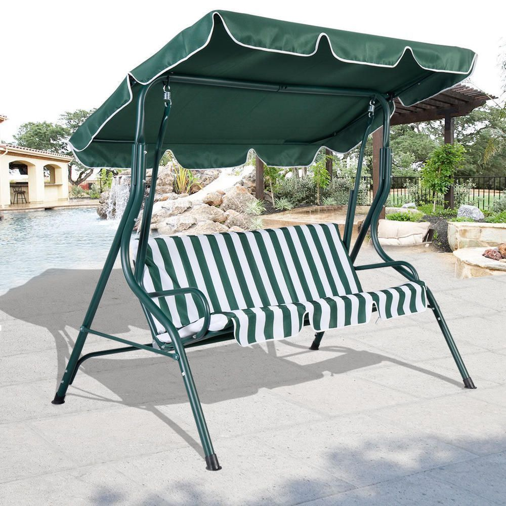 Mainstays Lawson Ridge Converting Outdoor Swing Hammock Replacement Canopy