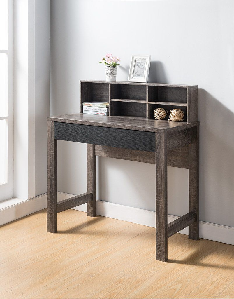 Smart home modern home office furniture simple desk distressed gray black click picture to assess even more details this is an affiliate link