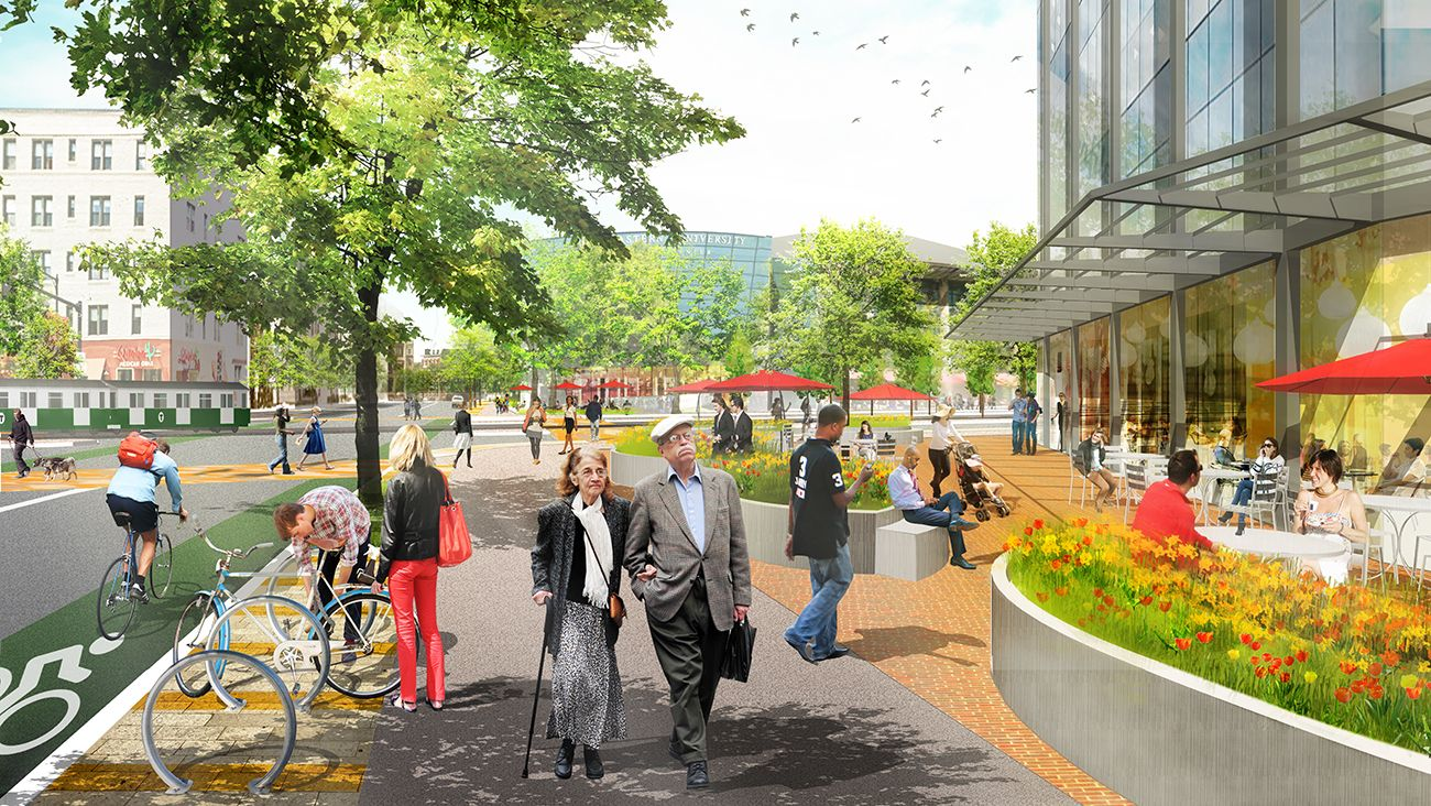 Image result for Avenue of the Arts Design Guidelines sasaki