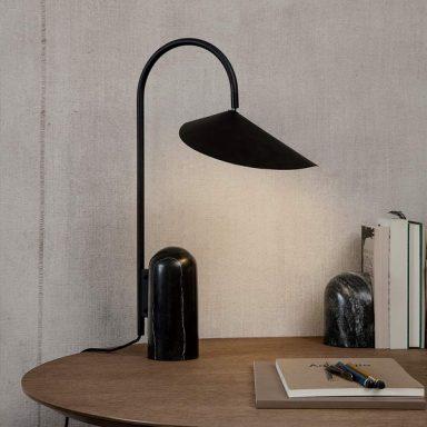 Design Desk Light Table Lamp Danish Design Lighting Fermliving Lighting Marble Table Lamp Black Table Lamps Table Lamp