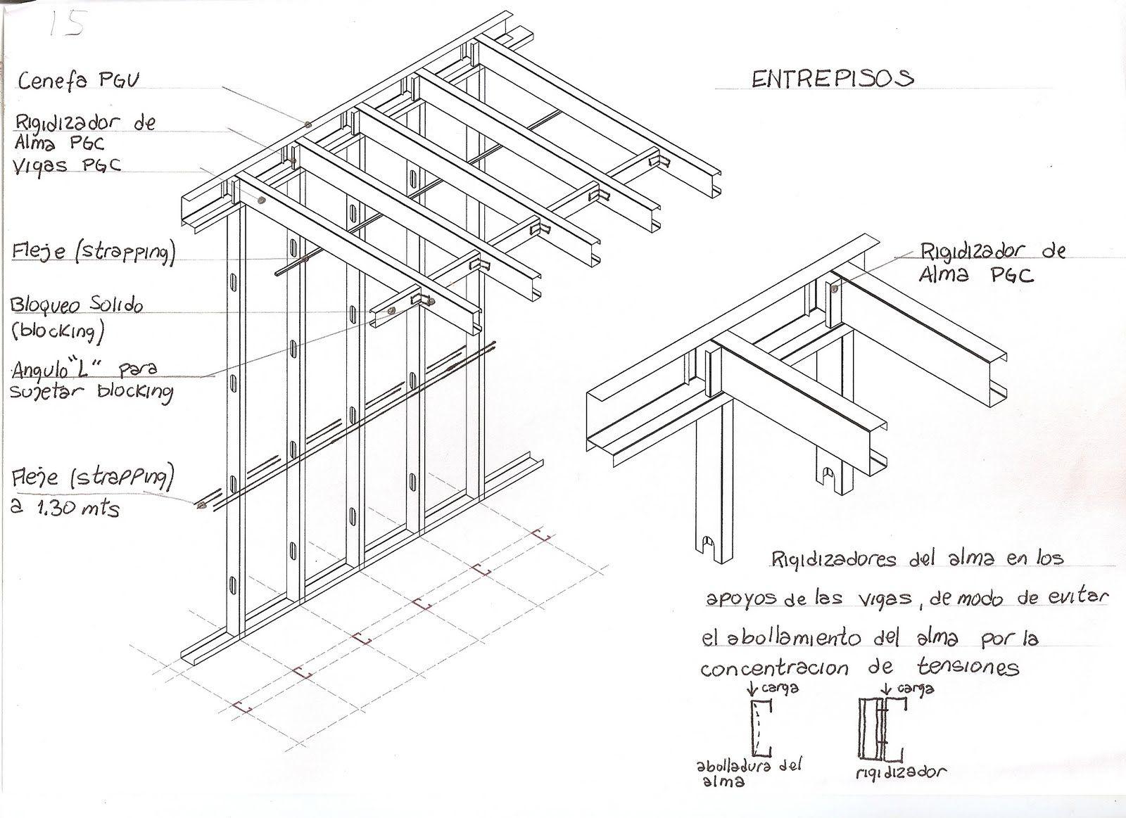 Pisos entrepisos escaleras se encuentran constituidas for Armar escalera metalica