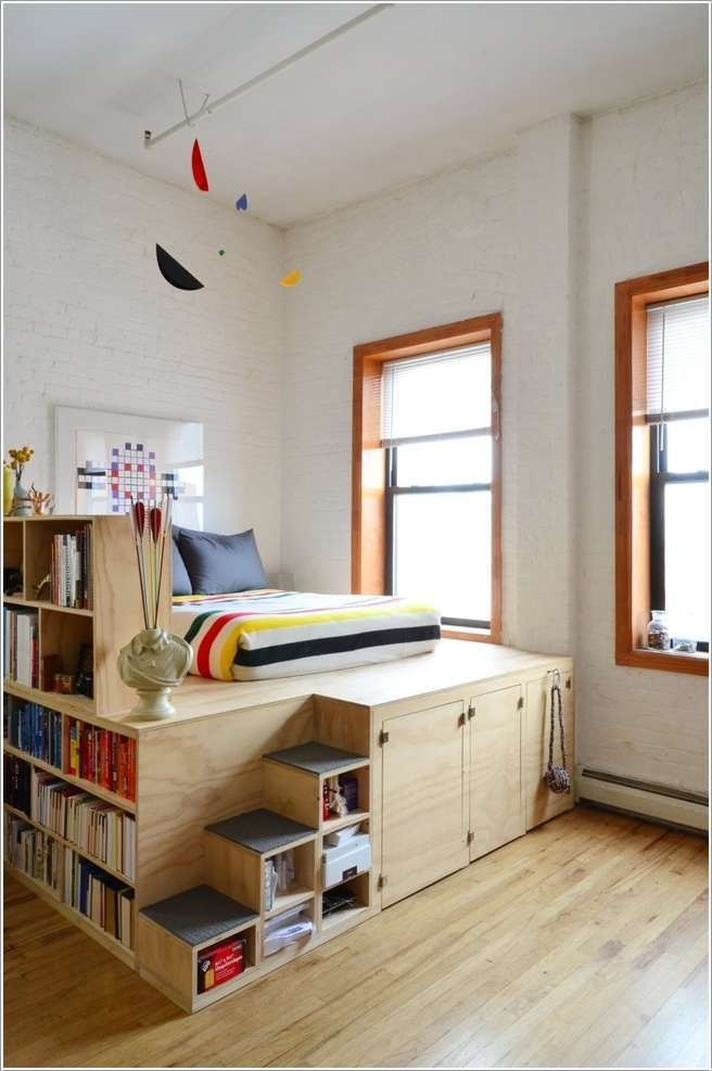 10 SPACE-SAVING IDEAS FOR SMALL APARTMENTS Extreme small space