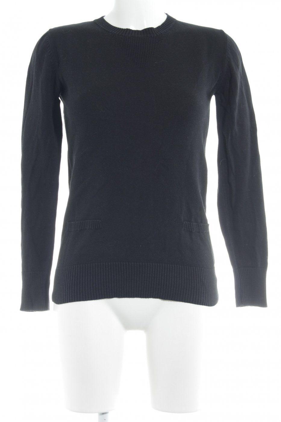 Element Strickpullover schwarz Casual-Look | Mädchenflohmarkt