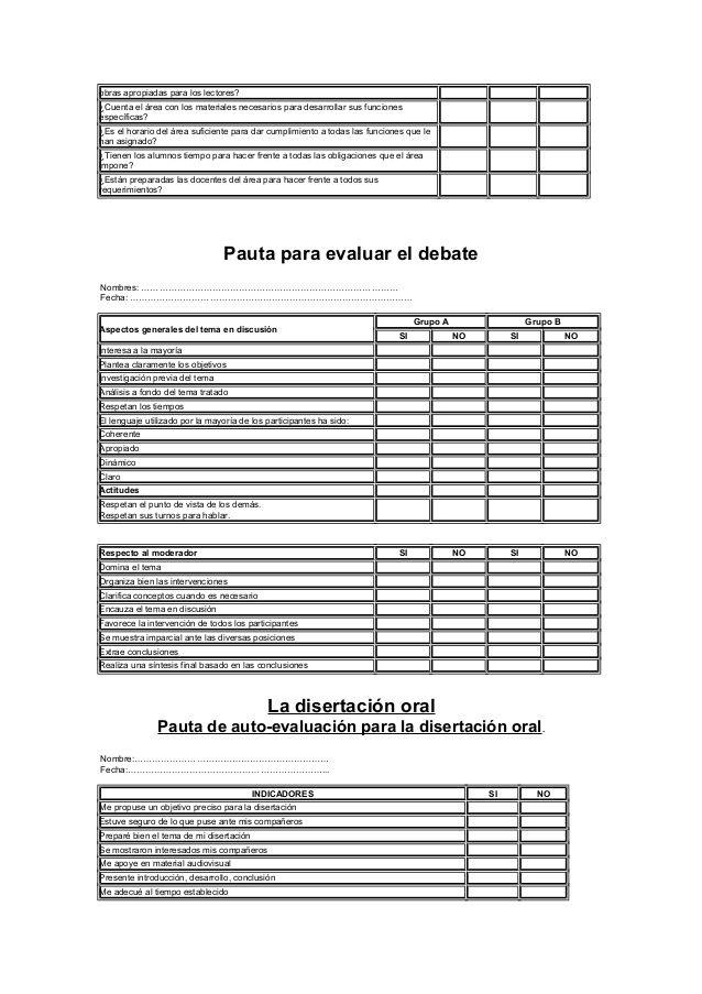 Lista De Cotejo Evaluacion Docente Autoevaluacion Instrumentos De Evaluacion