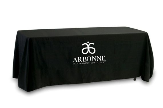 Show Off Your Arbonne Business With A Custom Made Tablecloth We Only