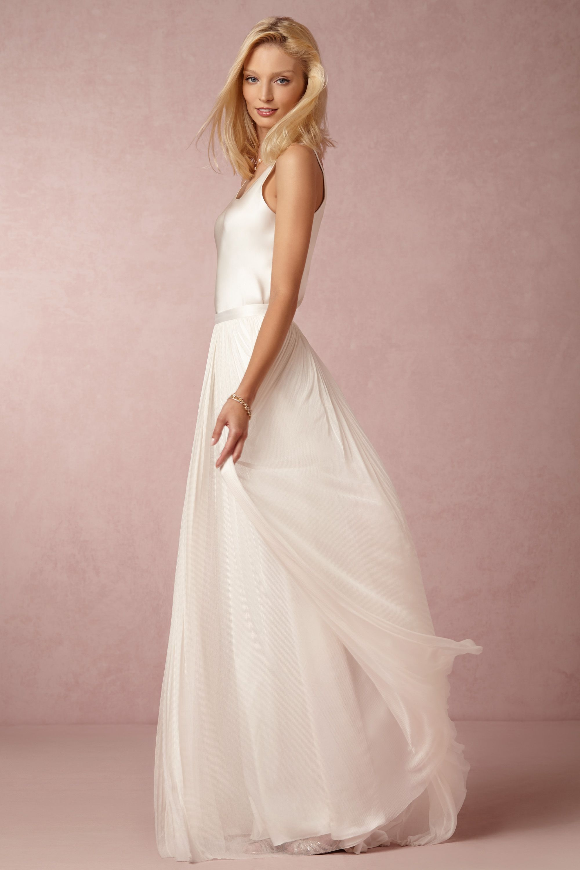 In Perpetuity Camisole & Anika Tulle Skirt from @BHLDN | Vestidos ...