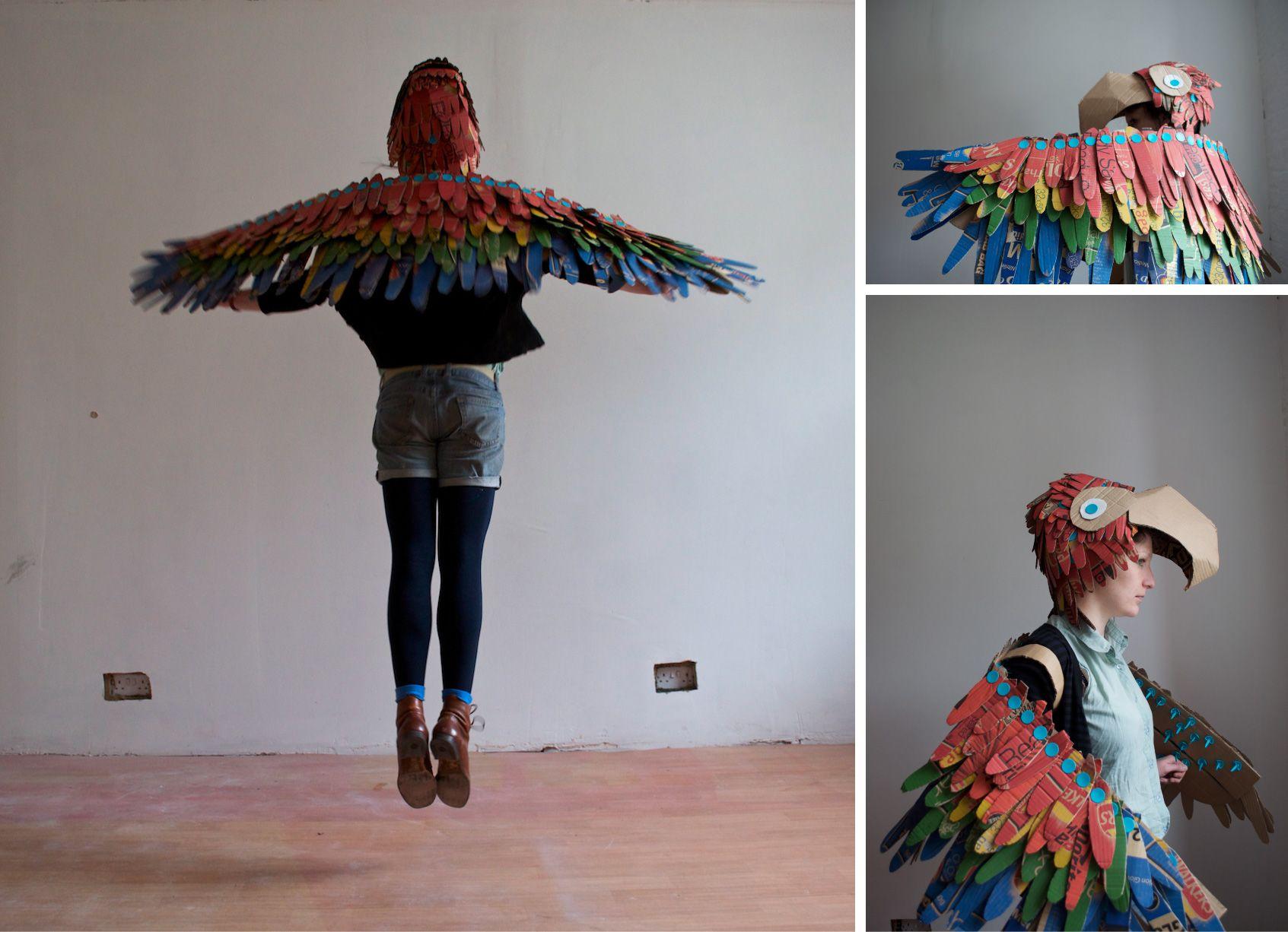 makedo wearable bird wings download instructions here! https ...