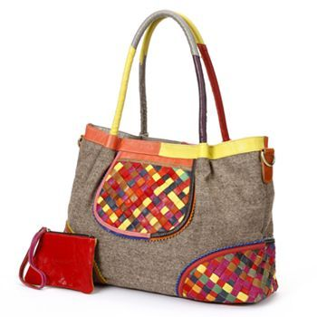 AmeriLeather Nevil Leather Handbag