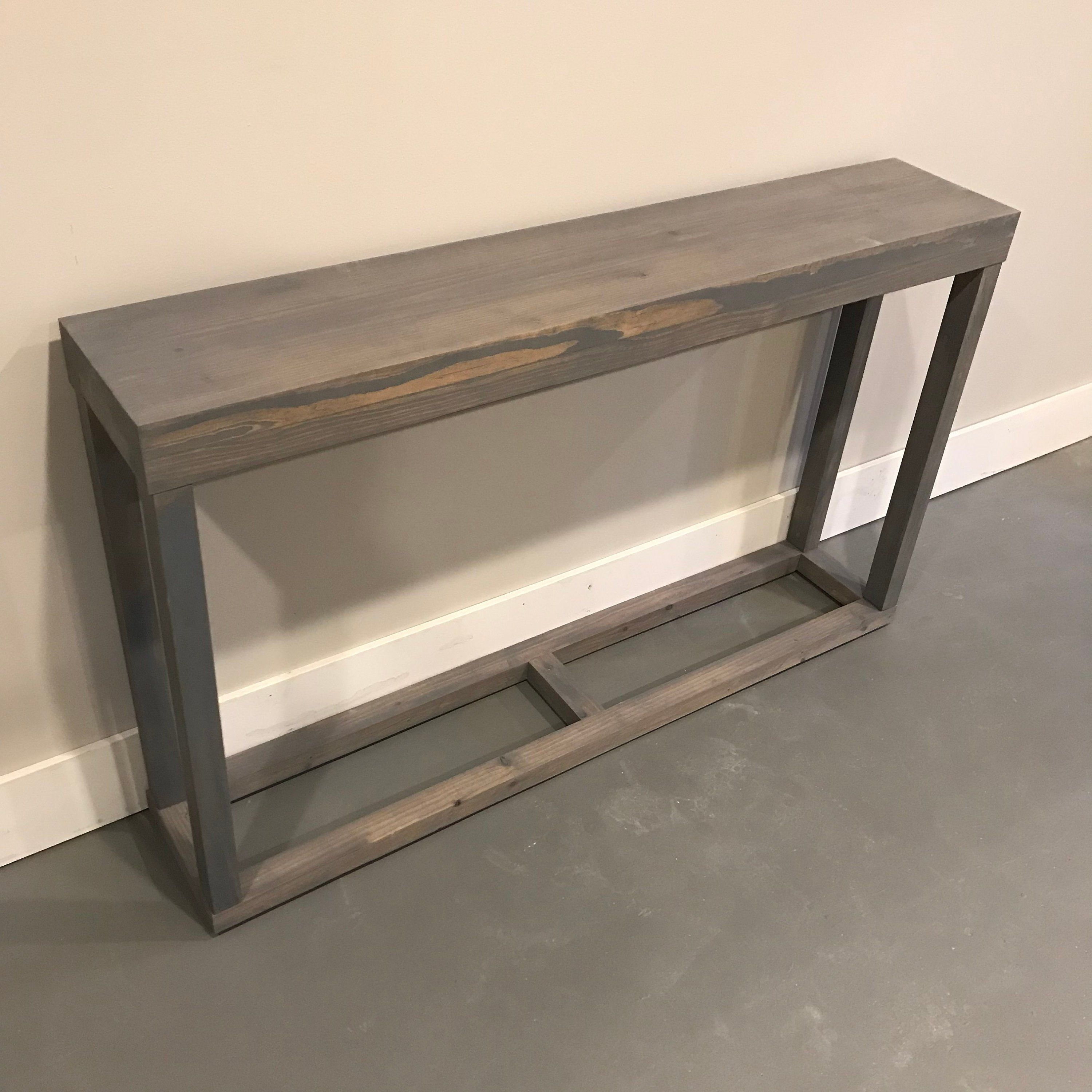 Long Console Table Narrow Console Table Long Entryway Table Behind Couch Table Behind Sofa Table Rustic Industrial With Images Behind Sofa Table Table Behind Couch Couch Table