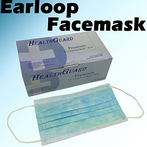 100 pcs disposable ear loop face masks medical fda approved