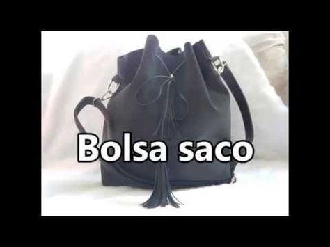 b1f6f09ec Diy Bolsa saco reaproveitando jeans - YouTube | Modelos em Jeans ...
