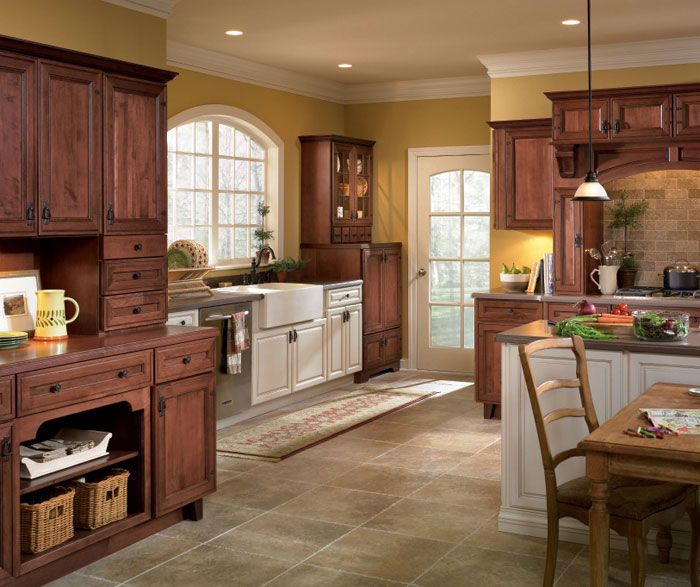 Rustic Kitchen with Contrasting Finishes Diamond Coconut