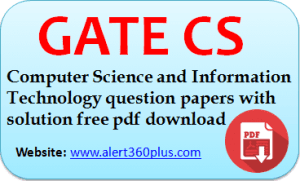 Gate Computer Science And Information Technology Cs Question Papers With Solution 2019 Download Free Question Paper Computer Science Information Technology