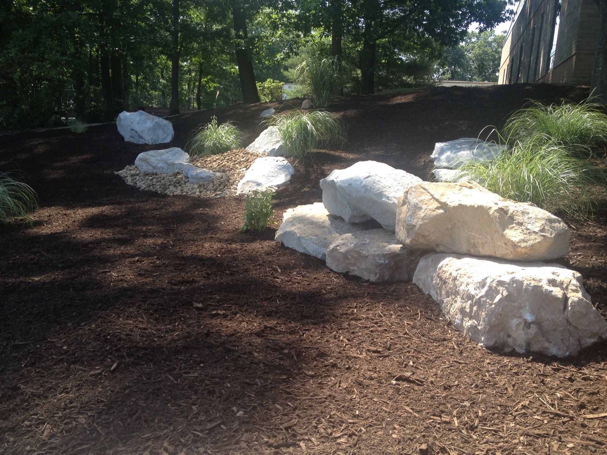 Very Large Limestone Boulders Landscaping With Boulders Bible Garden Landscape Stone