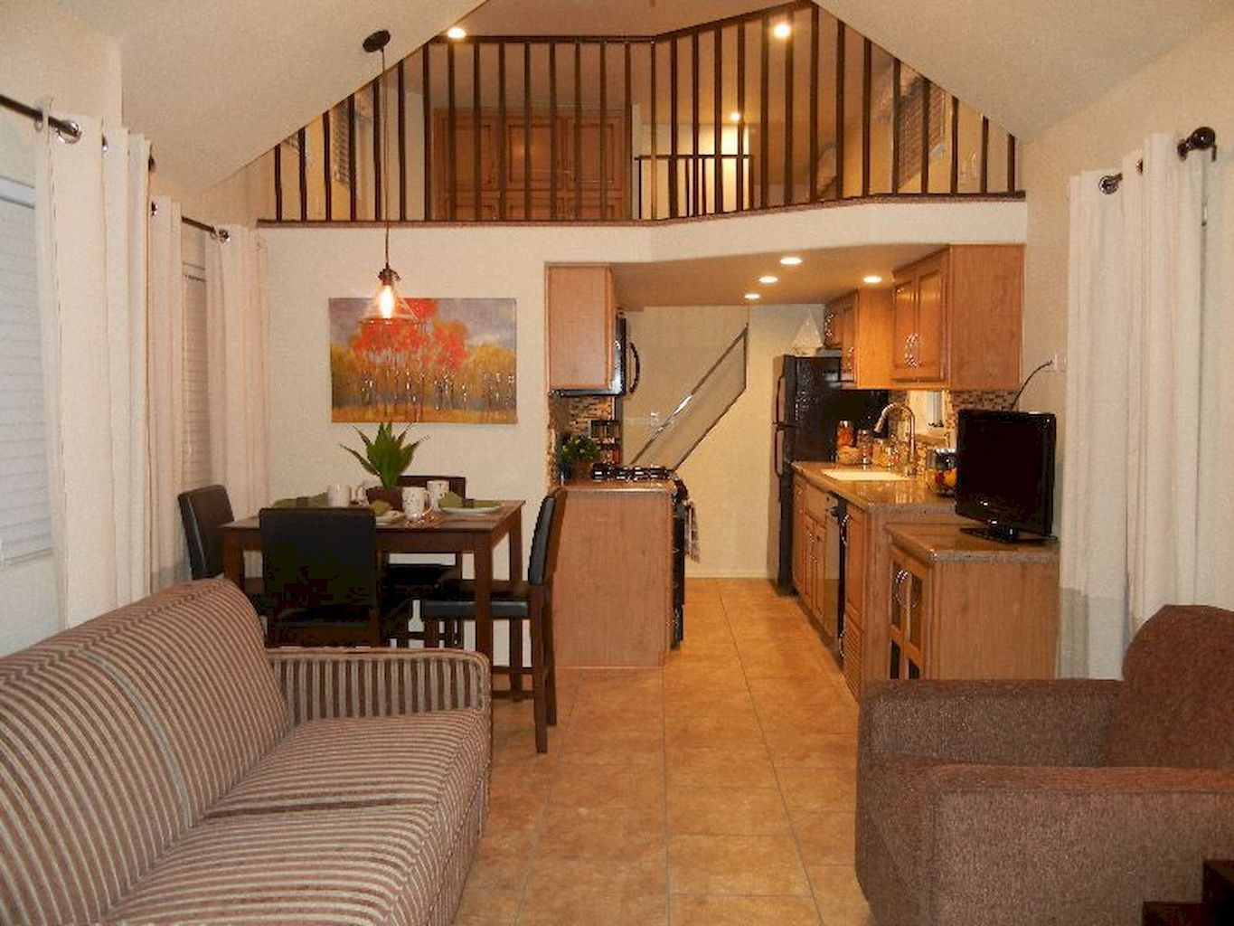 Loft bedroom no door   amazing loft stair for tiny house ideas  Trains planes and