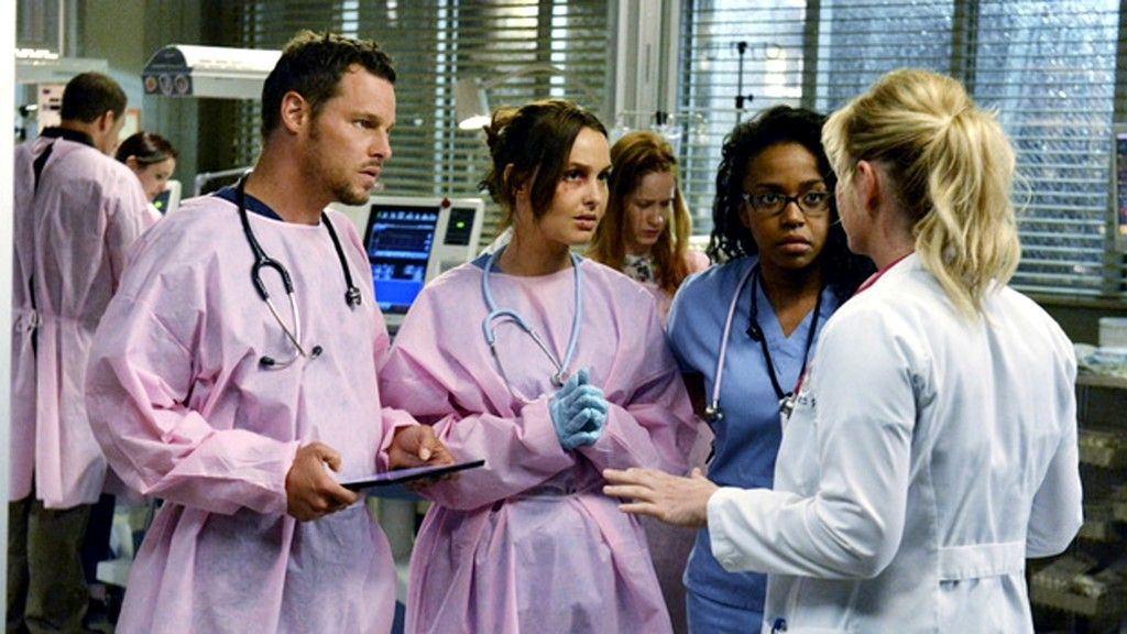 Justin Chambers and Camilla Luddington Photos Photos: Grey\'s Anatomy ...