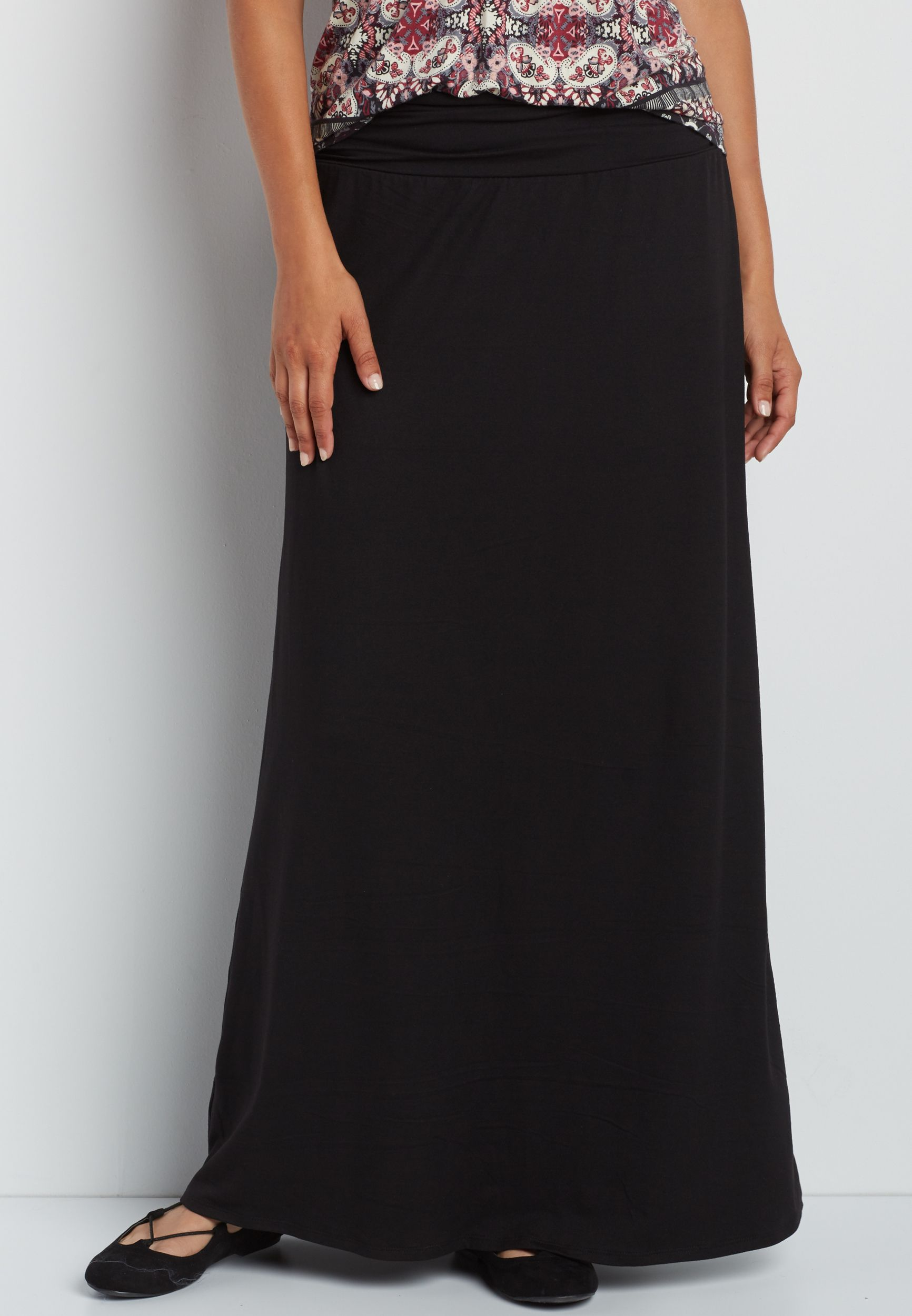 ultra soft maxi skirt (original price, $34.00) available at #Maurices