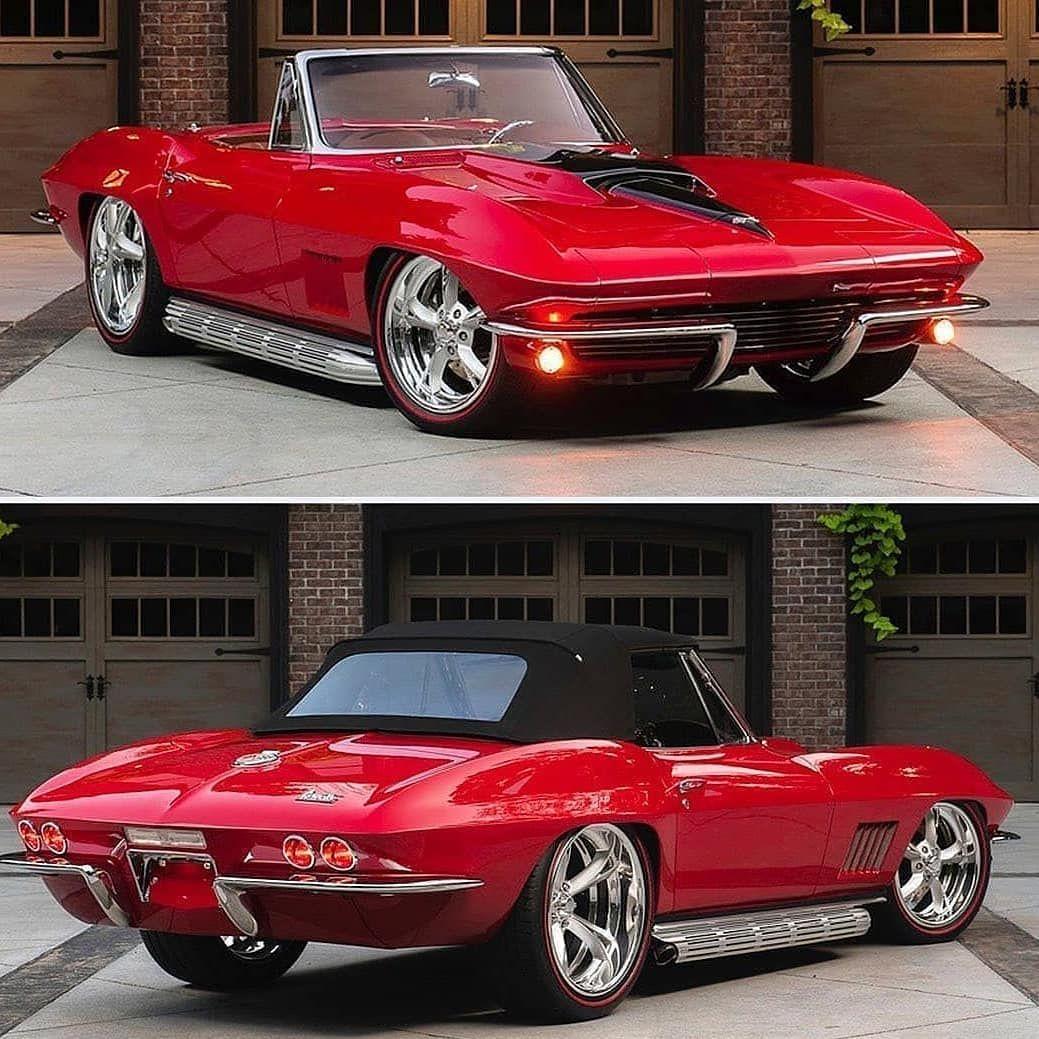 """Classic Cars 🇺🇸 on Instagram: """"1967 Corvette Photo: @barrett_jackson .. #corvette #americanmuscle #musclecar #classic #restomod #speed #vehicles #cargram #carstagram…"""""""