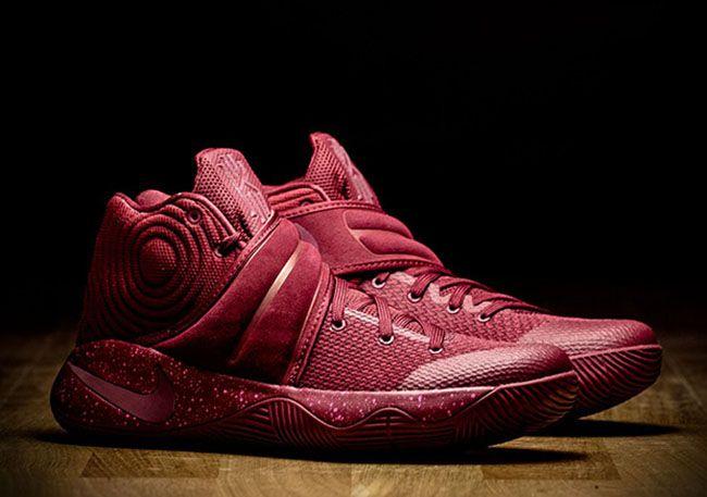 ... The Nike Kyrie 2 Red Velvet is inspired by Kyrie Irving favorite  dessert Red Velvet Cake ...