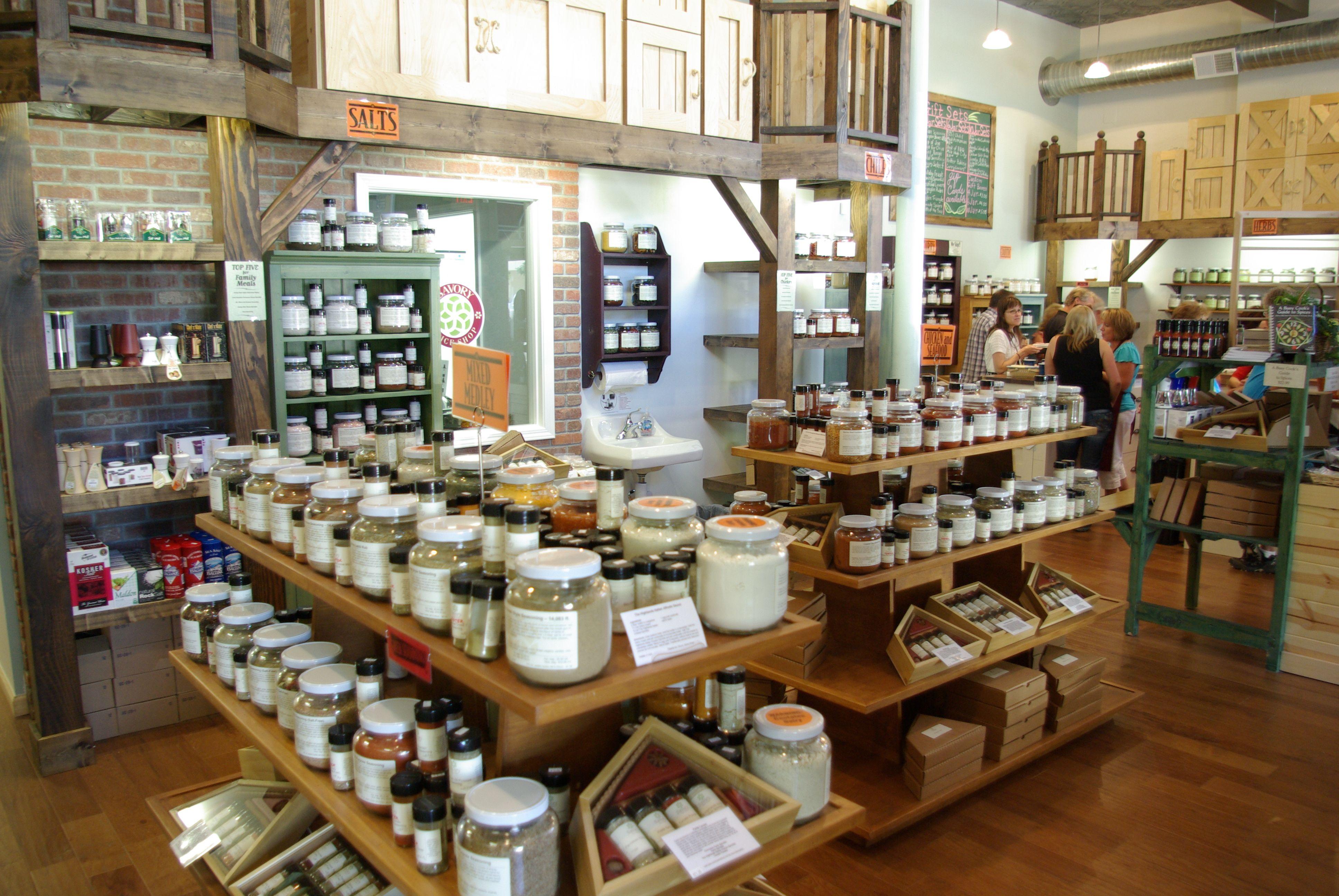 Savory Spice Shop Santa Rosa CA Retail Fixtures  Crates