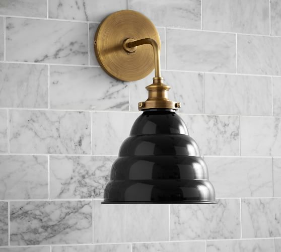 Beehive Sconce (With images) Sconces, Bathroom sconces